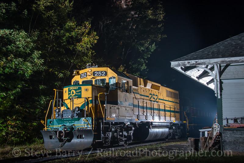 Conway Scenic; Glen NH; 9/19/19