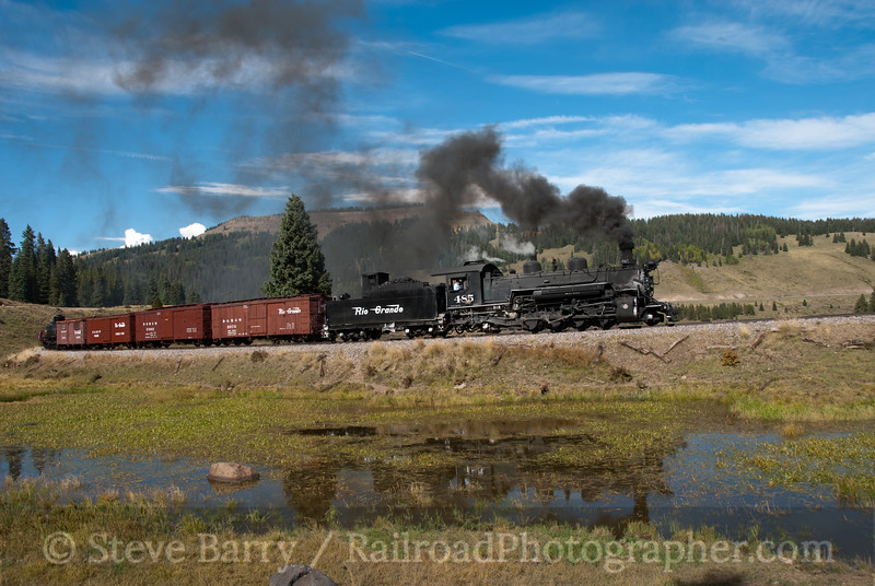 Photo 2226<br /> Cumbres & Toltec Scenic; Tanglefoot Curve, Cumbres, Colorado<br /> September 21, 2011
