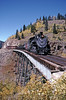Photo 0603<br /> Cumbres & Toltec Scenic; Cascade Trestle, New Mexico<br /> September 27, 1999