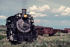 Photo 3013<br /> Cumbres & Toltec Scenic; Antonito, Colorado<br /> June 1988
