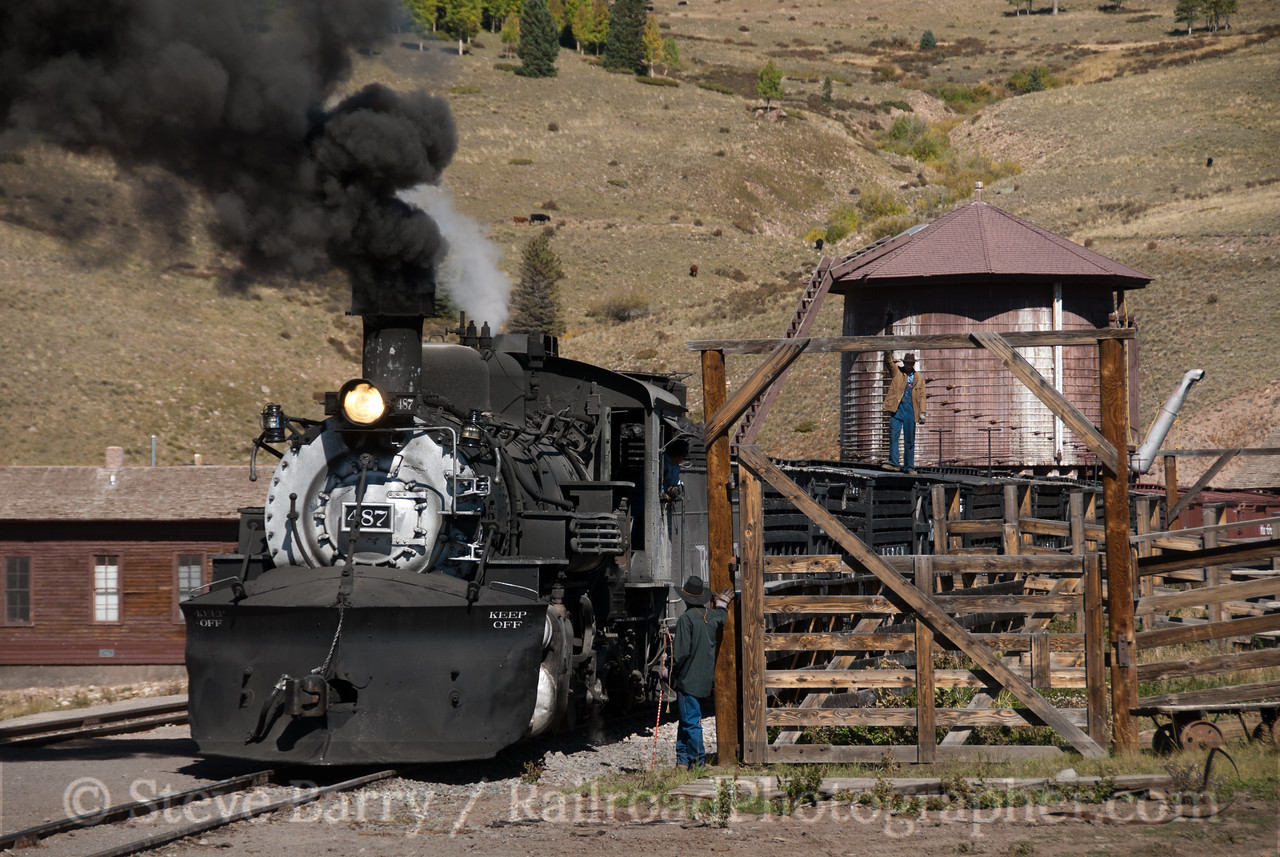 Photo 2229<br /> Cumbres & Toltec Scenic; Osier, Colorado<br /> September 22, 2011