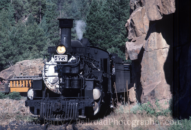 Photo 1584<br /> Durango & Silverton Narrow Gauge; Rockwood, Colorado