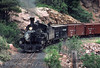 Photo 2905<br /> Durango & Silverton Narrow Gauge; Rockwood, Colorado<br /> July 1982