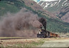 Photo 2913<br /> Durango & Silverton Narrow Gauge; Silverton, Colorado<br /> June 1988