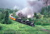 Photo 2909<br /> Durango & Silverton Narrow Gauge; Elk Park, Colorado<br /> June 1988