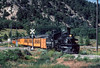 Photo 2910<br /> Durango & Silverton Narrow Gauge; Hermosa, Colorado<br /> July 1982