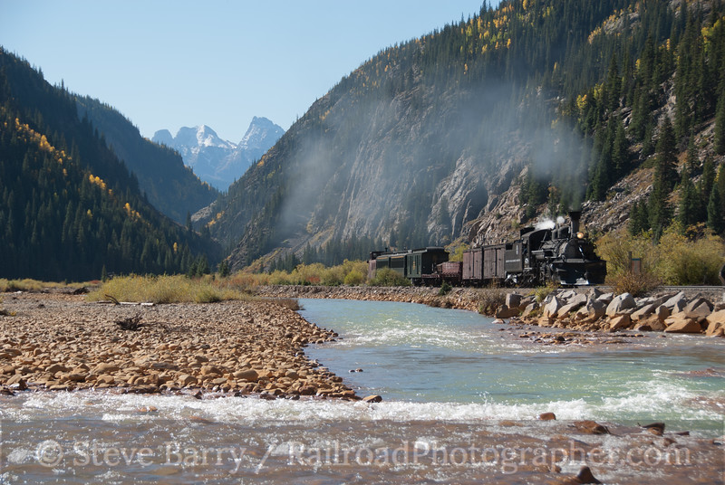 Photo 2241<br /> Durango & Silverton Narrow Gauge; Silverton, Colorado<br /> September 25, 2011
