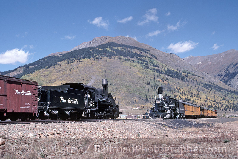 Photo 1775<br /> Durango & Silverton Narrow Gauge; Silverton, Colorado