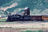 Photo 2979<br /> Durango &amp; Silverton Narrow Gauge; Silverton, Colorado<br /> July 1982