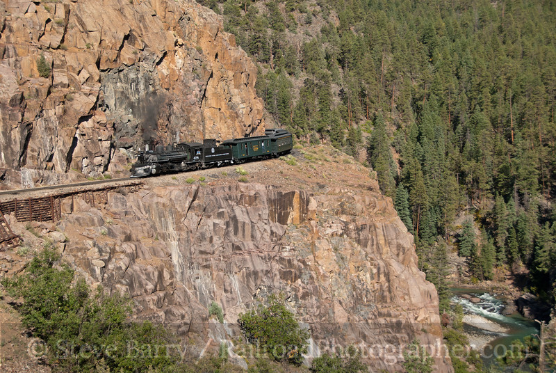 Photo 2252<br /> Durango & Silverton Narrow Gauge; Rockwood, Colorado<br /> September 24, 2011