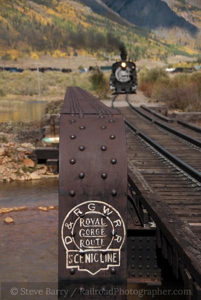 Photo 2239<br /> Durango & Silverton Narrow Gauge; Silverton, Colorado<br /> September 24, 2011