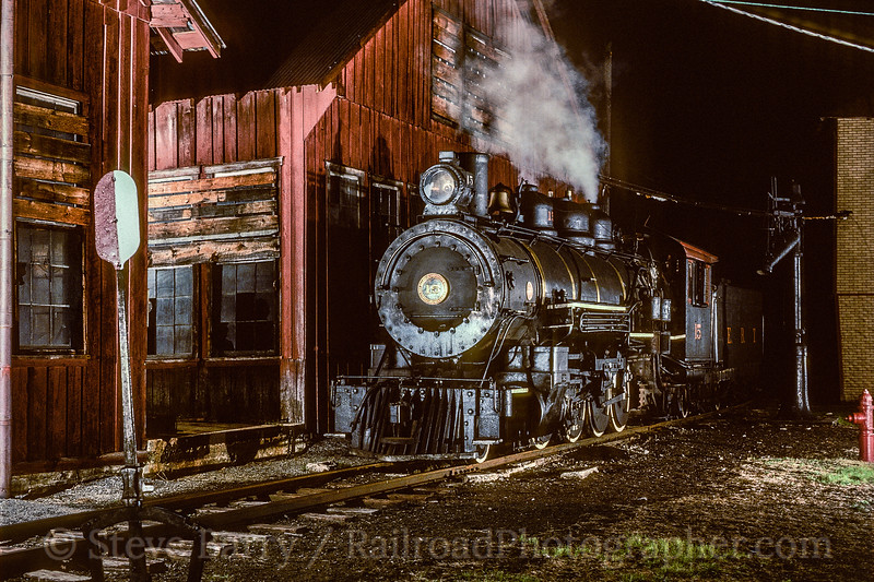 Photo 5409<br /> East Broad Top<br /> Rockhill Furnace, Pennsylvania<br /> May 1982