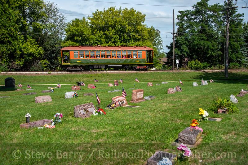 East Troy Railroad Museum; East Troy WI; 8/25/21