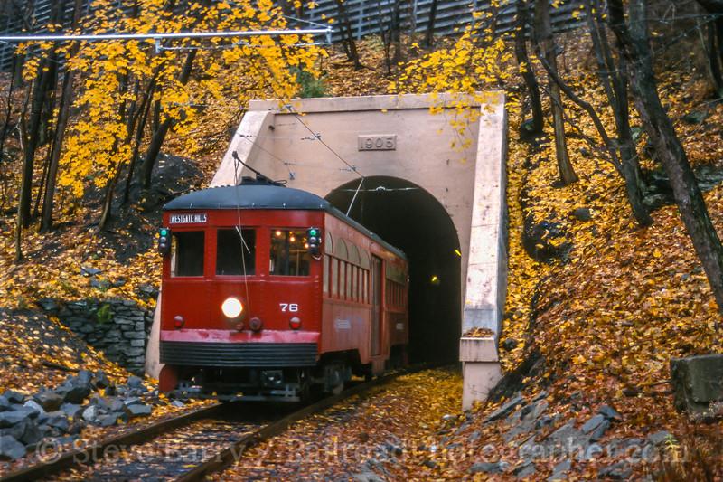 Electric City Trolley Museum; Scranton PA; 11/2002