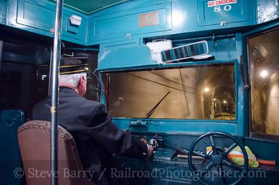 Photo 3808 Electric City Trolley Museum; Crown Avenue Tunnel, Scranton, Pennsylvania June 9, 2016