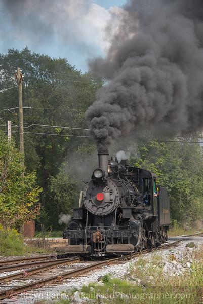 Photo 4315<br /> Everett Railroad<br /> East Freedom, Pennsylvania<br /> September 17, 2017