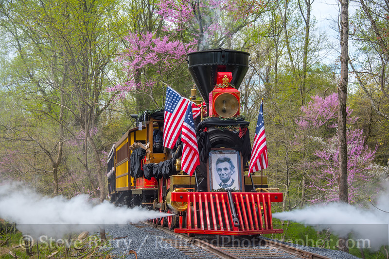Photo 5532<br /> Lincoln Funeral Train<br /> Stone Gables Estate, Elizabethtown, Pennsylvania<br /> April 22, 2019