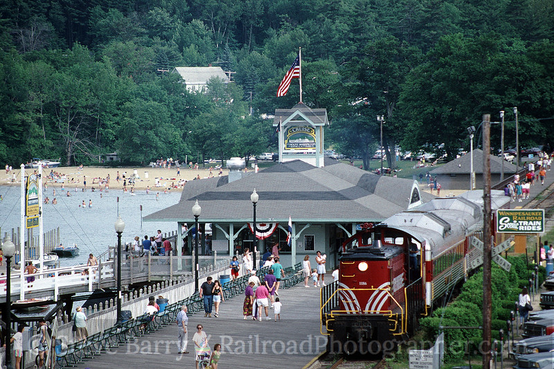 Photo 0290<br /> Winnipesaukee Scenic; Weirs Beach, New Hampshire<br /> July 12, 1992