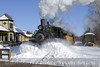 Photo 1103<br /> Huckleberry Railroad; Crossroads Village, Flint, Michigan<br /> February 15, 2008