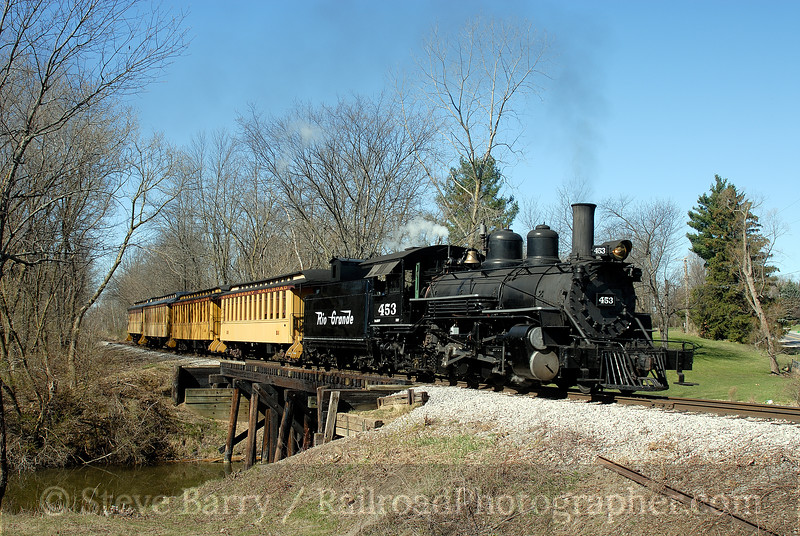 Photo 0934<br /> Huckleberry Railroad; Crossroads Village, Flint, Michigan<br /> April 20, 2007