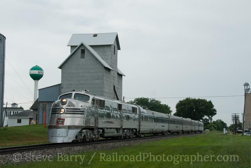 Photo 2166<br /> Nebraska Zephyr; Mineral, Illinois<br /> July 24, 2011