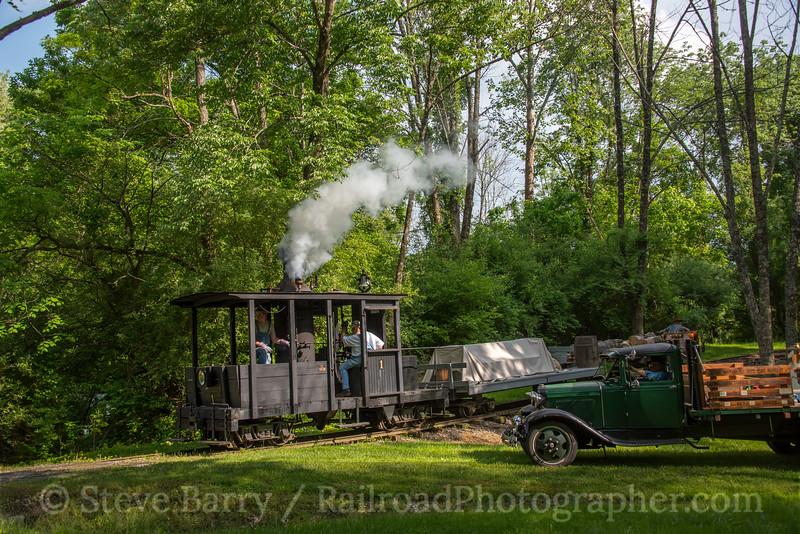 Photo 4685<br /> Locust Heights & Western<br /> Clarksburg, West Virginia<br /> May 20, 2018
