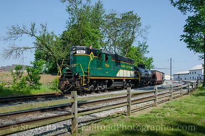 Photo 3798 Maine Eastern (on Strasburg Rail Road); Leaman Place Junction, Paradise, Pennsylvania May 28, 2016