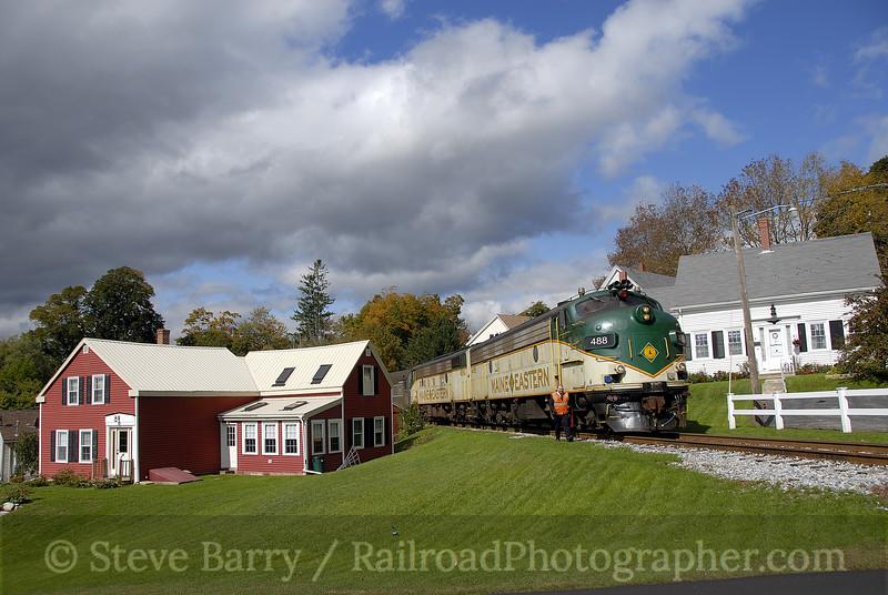Photo 1293<br /> Maine Eastern; Thomaston, Maine<br /> October 4, 2008