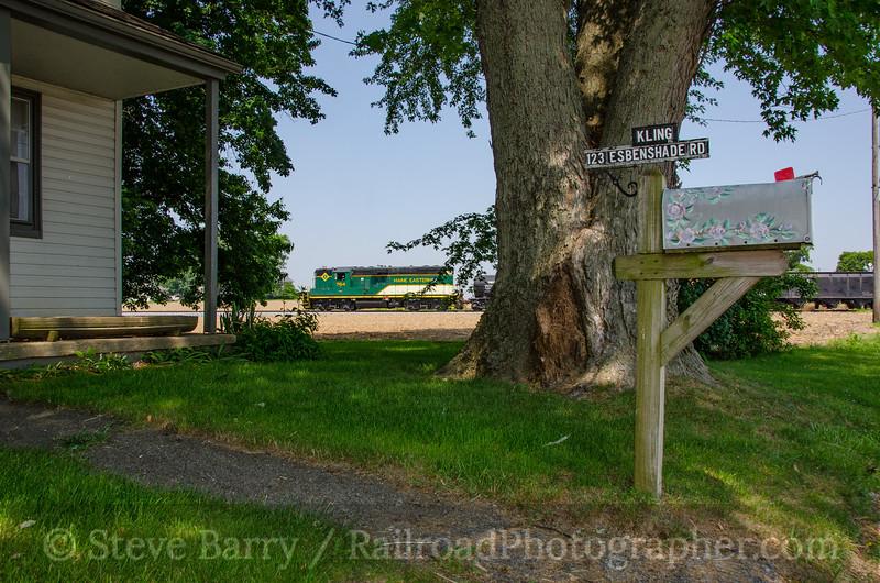 Photo 3799<br /> Maine Eastern (on Strasburg Rail Road); Strasburg, Pennsylvania<br /> May 28, 2016