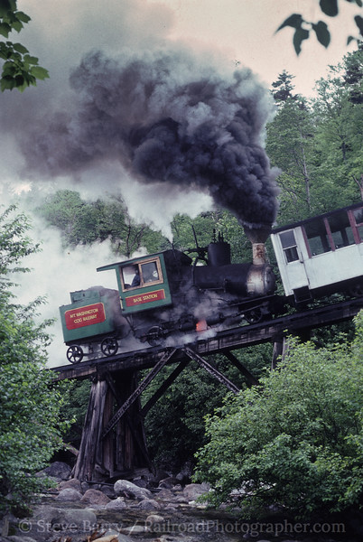 Photo 0818<br /> Mount Washington Cog<br /> Base Station, New Hampshire<br /> July 12, 1992