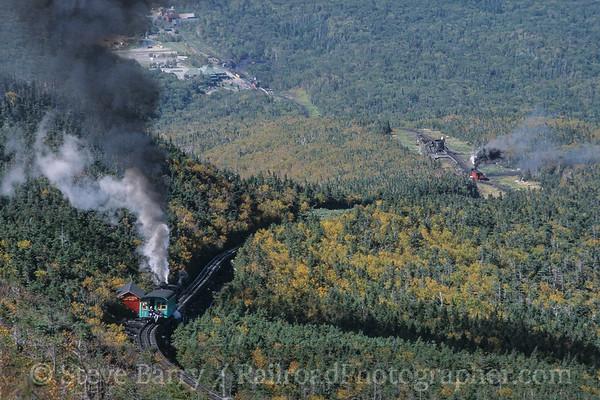 Photo 3792 Mount Washington Cog; Mount Washington, New Hampshire September 2003