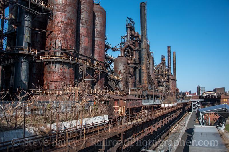 Photo 5522<br /> Hoover Mason Trestle<br /> Bethlehem Steel, Bethlehem, Pennsylvania<br /> April 3, 2019