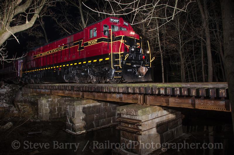Photo 2505<br /> New Hope & Ivyland; Hood (New Hope), Pennsylvania<br /> December 15, 2012