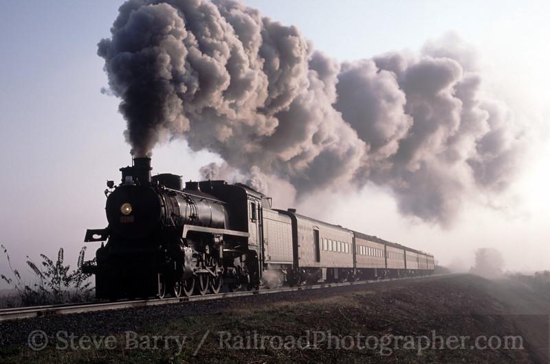 Photo 0144<br /> Canadian Pacific 1293; Morgan Run, Ohio<br /> October 2003