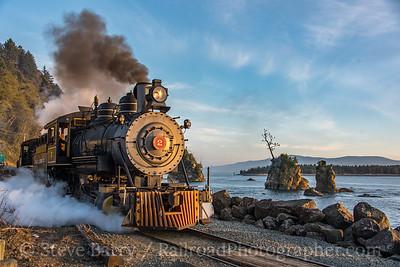 Photo 5343<br /> Oregon Coast Scenic<br /> Barview, Oregon<br /> October 18, 2018