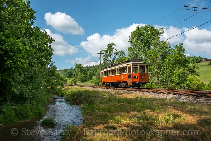 Photo 4708<br /> Pennsylvania Trolley Museum<br /> Washington, Pennsylvania<br /> June 2, 2018