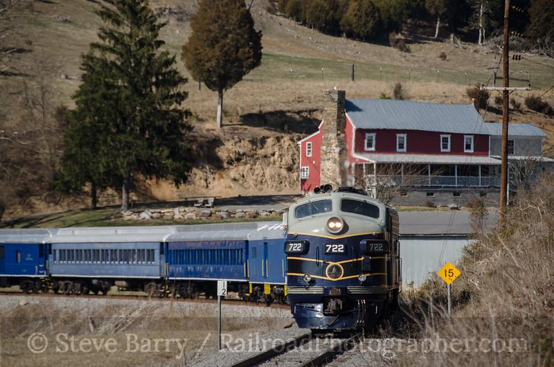 Photo 2646<br /> Potomac Eagle; Romney, West Virginia<br /> March 23, 2013