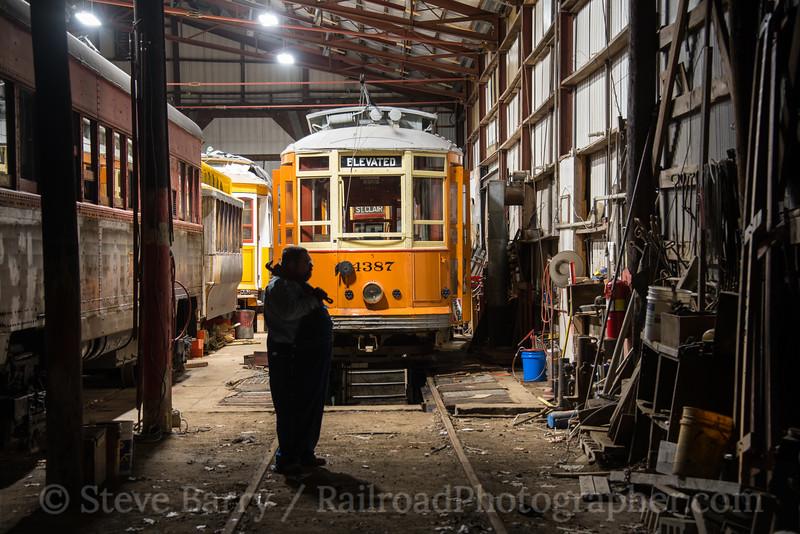 Photo 4409<br /> Seashore Trolley Museum<br /> Kennebunkport, Maine<br /> November 11, 2017