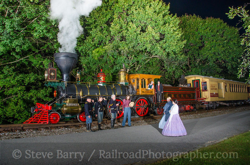 Photo 3956<br /> Steam Into History; Railroad, Pennsylvania<br /> September 24, 2016