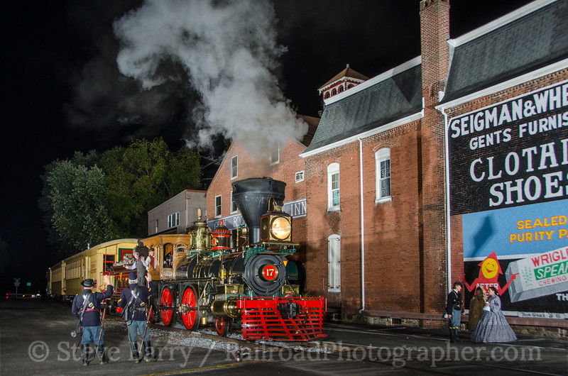 Photo 3504<br /> Steam Into History; Glen Rock, Pennsylvania<br /> September 26, 2015