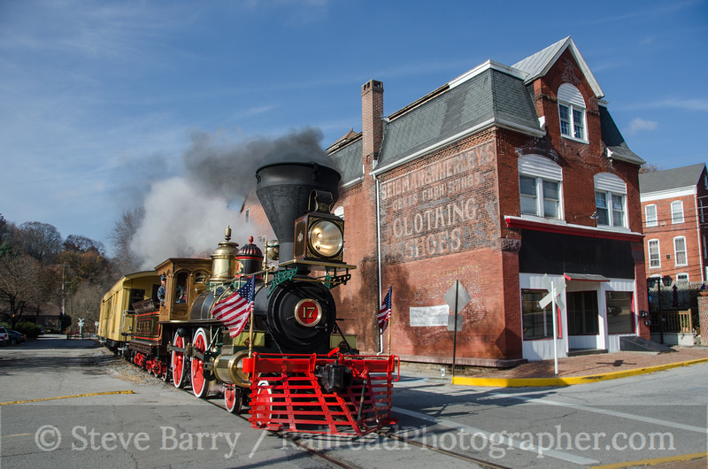 Photo 2835<br /> Steam Into History; Glen Rock, Pennsylvania<br /> November 16, 2013