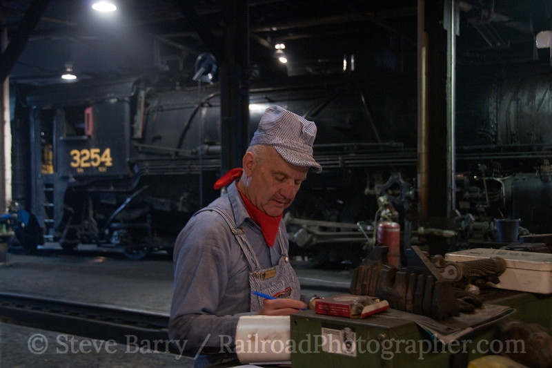 Photo 1940<br /> Dick Roden<br /> Steamtown National Historic Site; Scranton, Pennsylvania<br /> September 5, 2010
