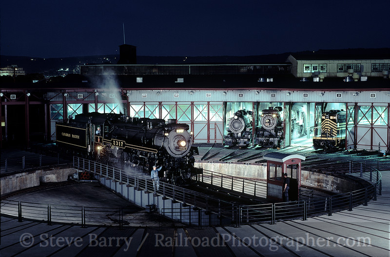 Photo 0795<br /> Steamtown National Historic Site; Scranton, Pennsylvania<br /> July 1998