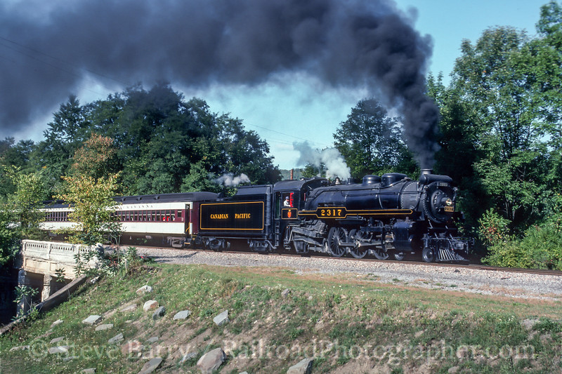 Photo 5414<br /> Steamtown National Historic Site<br /> Hallstead, Pennsylvania<br /> October 1991