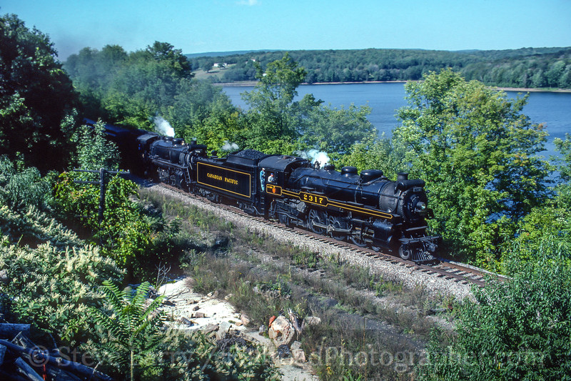 Photo 4719<br /> Steamtown National Historic Site<br /> Moscow, Pennsylvania<br /> September 1998