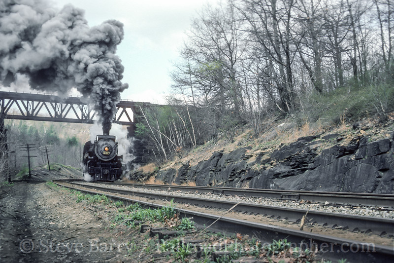 Photo 4735<br /> Steamtown National Historic Site<br /> Dunmore, Pennsylvania<br /> May 1986