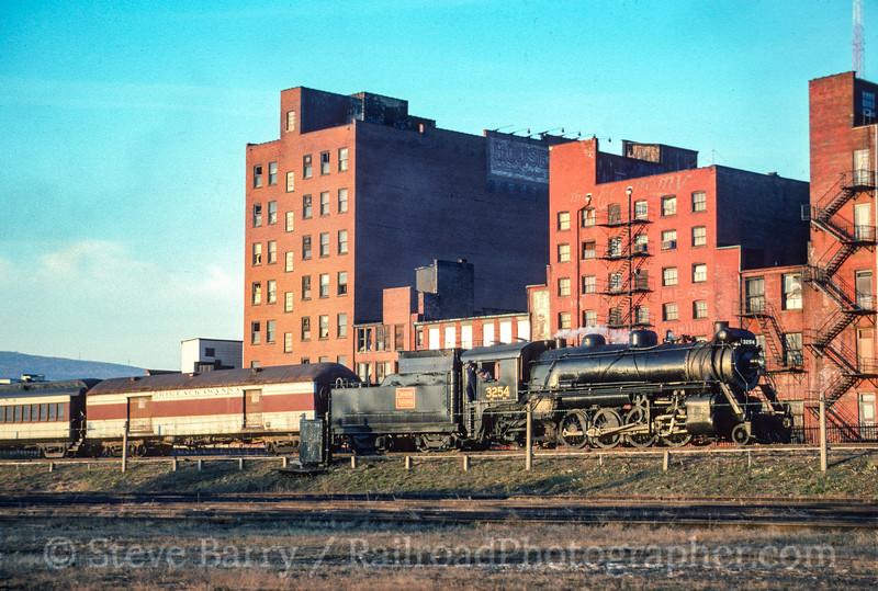 Photo 3528<br /> Steamtown National Historic Site; Scranton, Pennsylvania<br /> November 1990