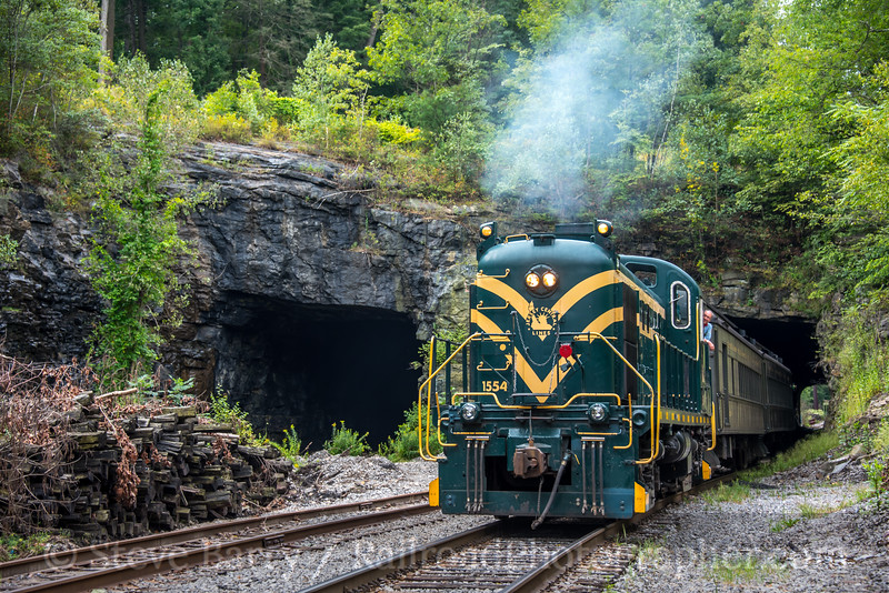 Photo 5181<br /> Steamtown National Historic Site<br /> Nay Aug Tunnel, Scranton, Pennsylvania<br /> September 2, 2018