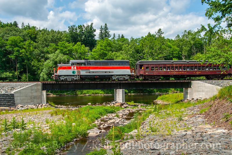 Stourbridge Line; Hawley PA; 6/23/10