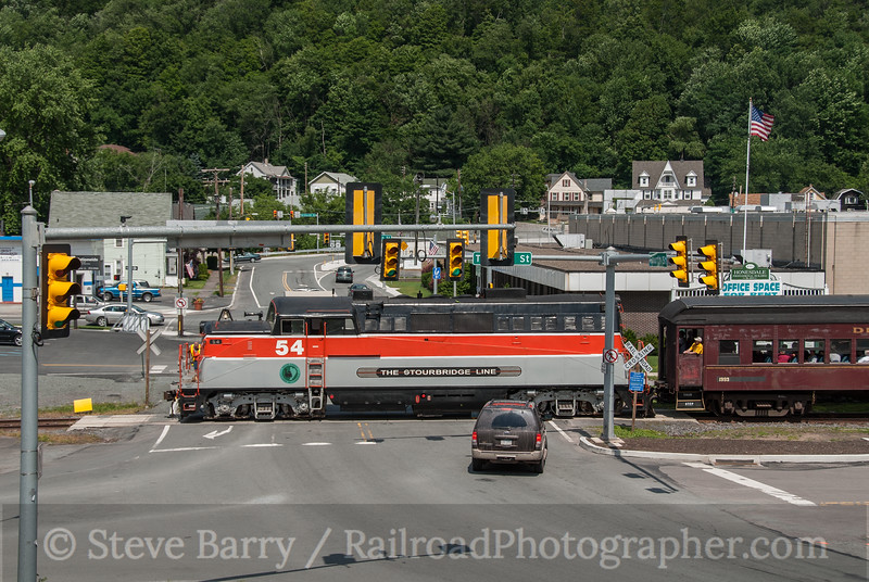 Photo 2494<br /> Lackawaxen & Stourbridge; Honesdale, Pennsylvania<br /> June 23, 2010